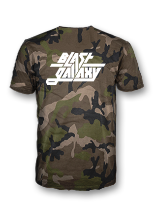 Blast Galaxy Camo tshirt