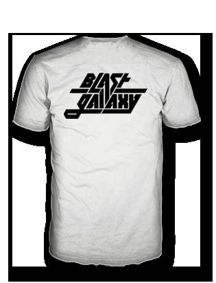 Blast Galaxy classic white shirt